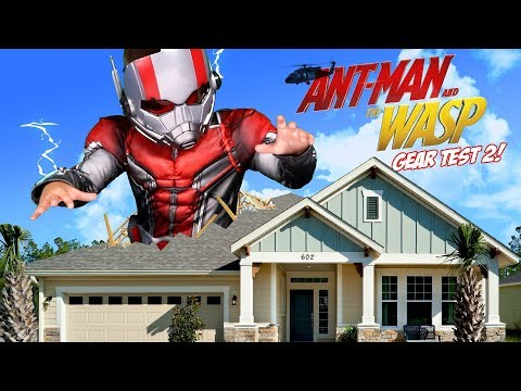 Ant-Man and the Wasp Movie Gear Test & Toys Review Pt 2!