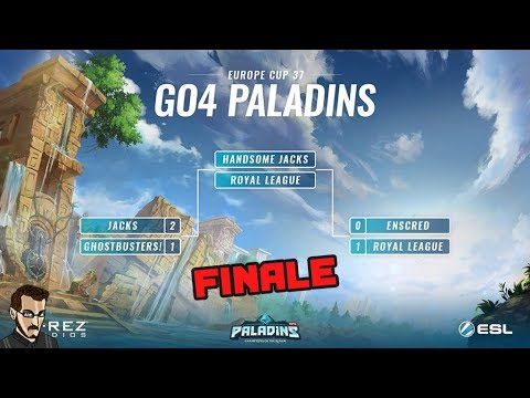 Paladins FR - GO4 Paladins #37 Finale EU : Handsome Jacks Vs Royal League