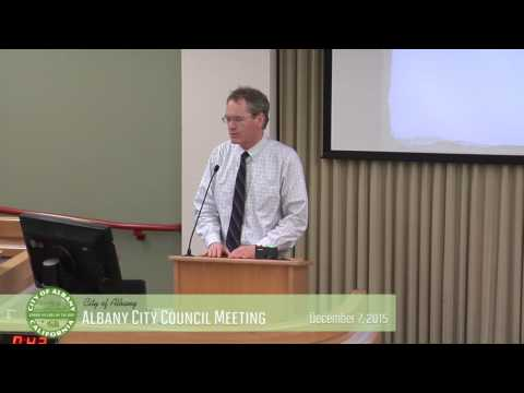 Albany City Council - Dec 7, 2015