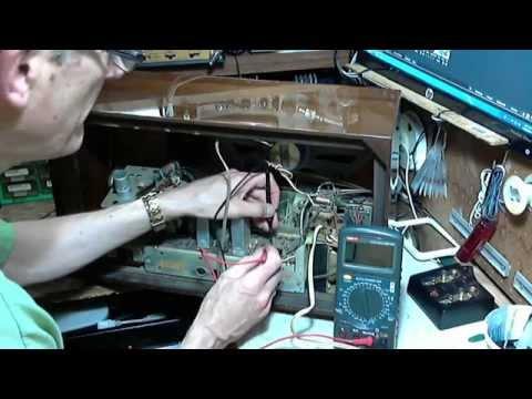 Graetz Polka 1113E German Antique Radio Video #1 - Checkout