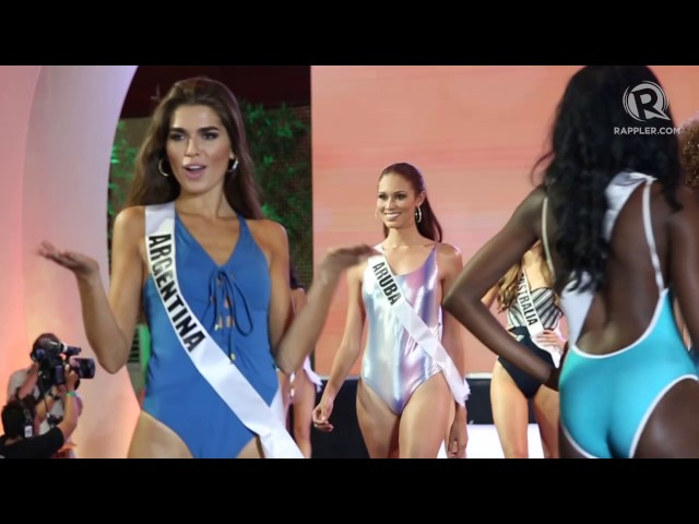 WATCH: Miss Universe 2016 candidates in swimsuit