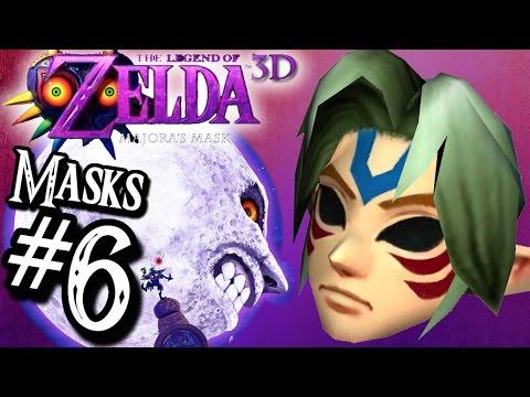 Majora's Mask 3D FIERCE DEITY MASK & Moon Dungeons  ALL MASKS Walkthrough 6 3DS