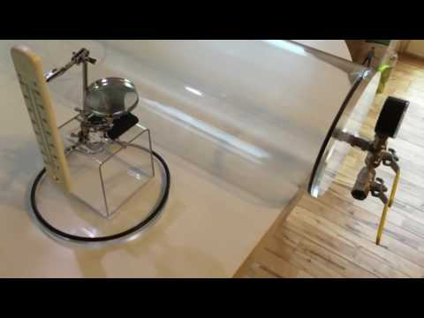 Flat Earth Vacuum Experiment   Heat Transfer