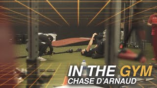 Working out with Ryon Healy, Chris Archer, and Jack Flaherty | Chase d'Arnaud