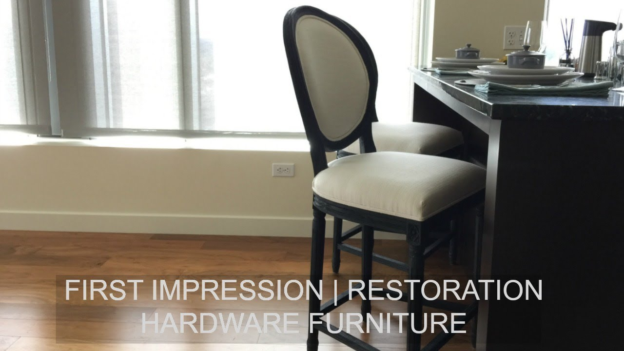 First Impression Restoration Hardware Furniture Youtube