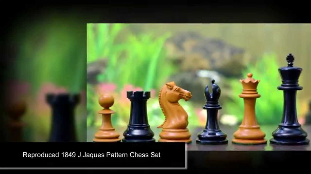 best reproduced 1849 staunton pattern chess set in ebony