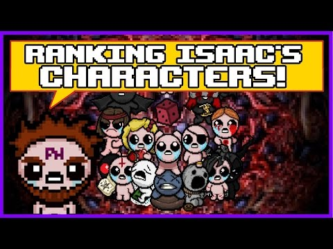 Ranking Isaac's Characters from Least Favorite to Favorite!