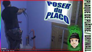 10/15 ⏩ ASTUCES & TECHNIQUES PLAQUAGE PLACO® GLASROC® H OCEAN pour douche Italienne / DRYWALL