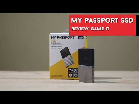 My Passport SSD 256Gb de Western Digital, review y unboxing