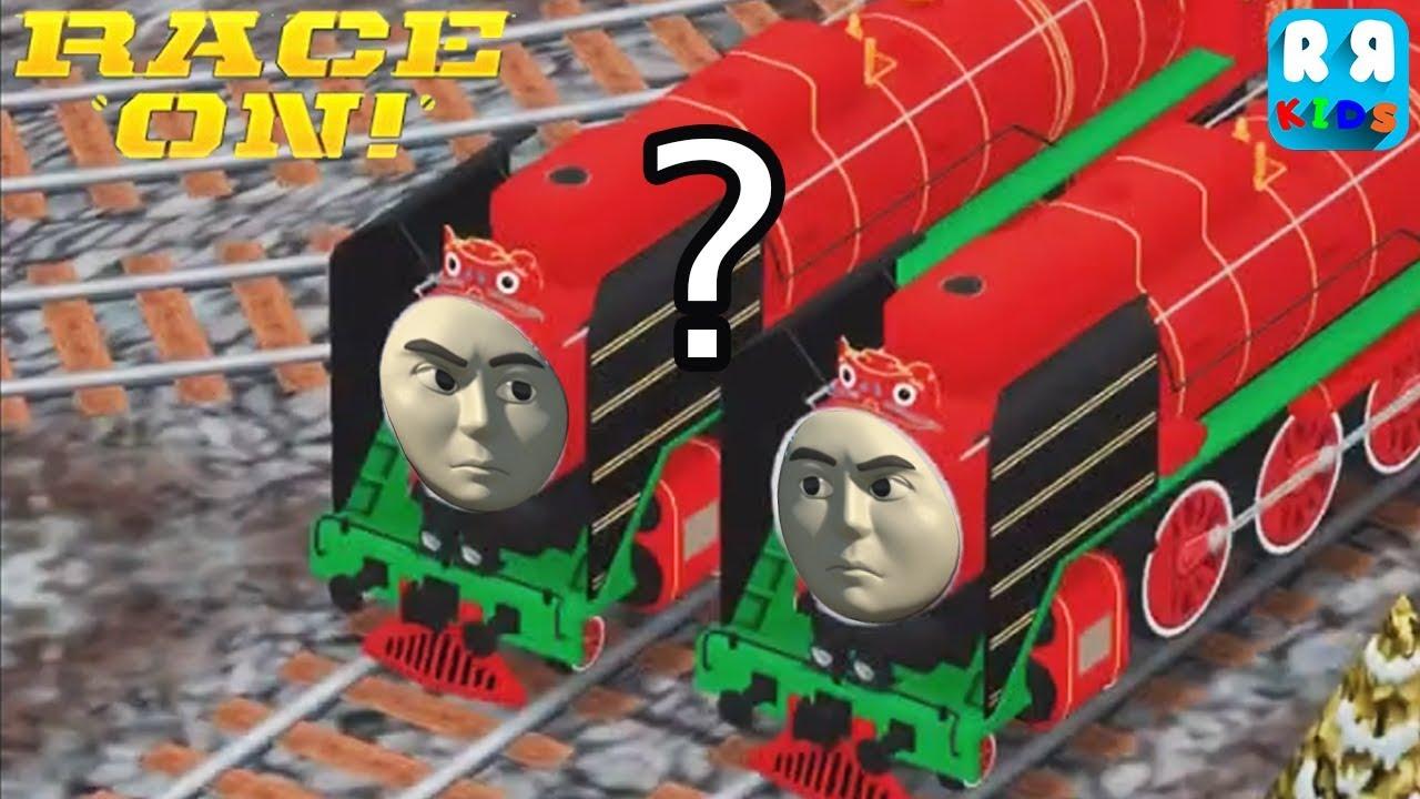 Kids Play Train - Yong Bao vs Yong Bao ? | Thomas & Friends: Race On!