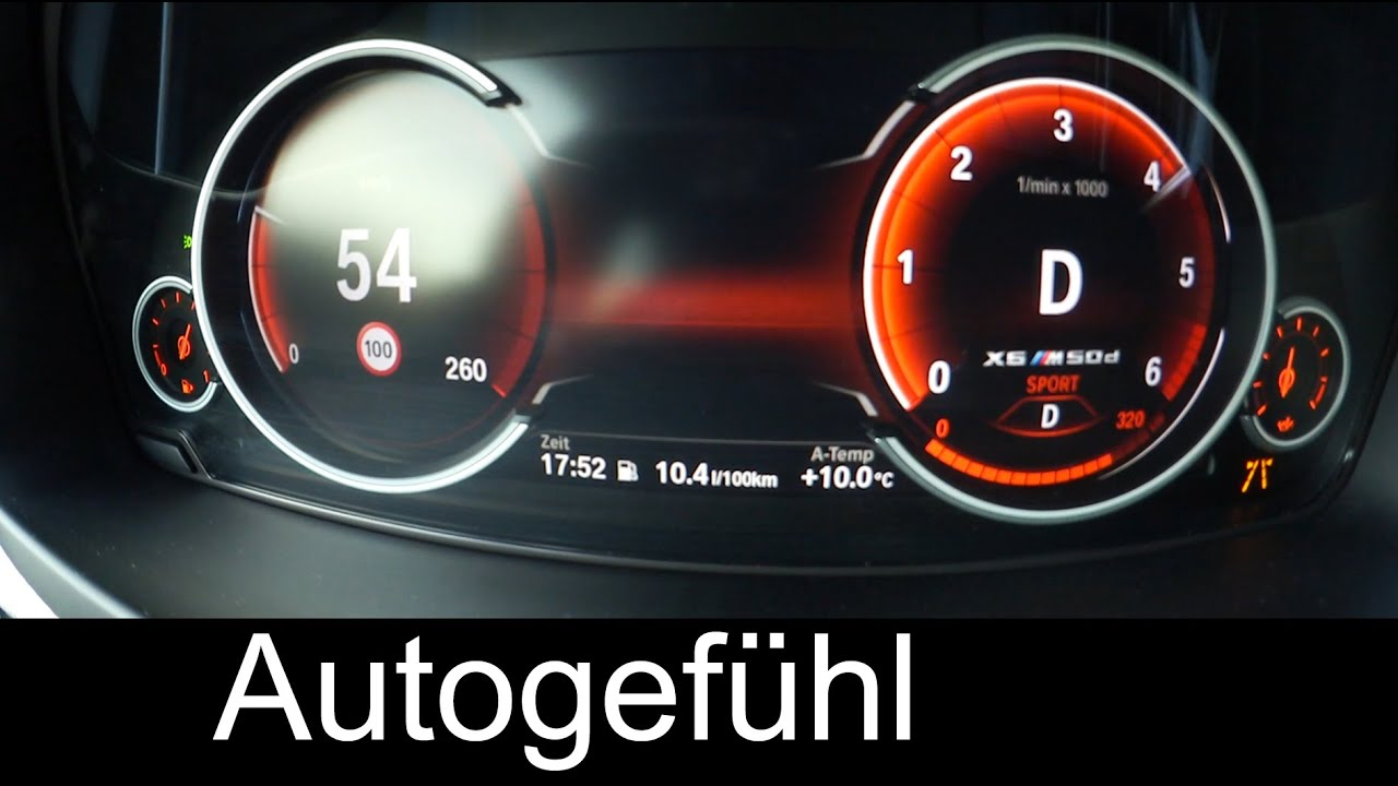 2016 2015 BMW X6 M50d acceleration 0 100 km h 0 60 mph 5 2 Sec