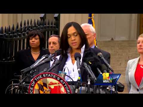 Video: U.S. DOJ will not criminally charge Freddie Gray officers