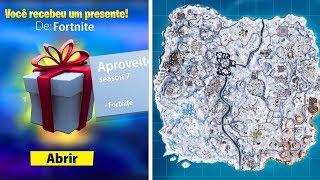Vazou Evento de Natal e Presentes Voltaram Fortnite Temporada 7...