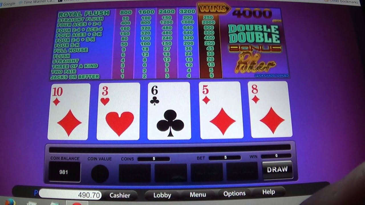 Free Online Video Poker Atlantis
