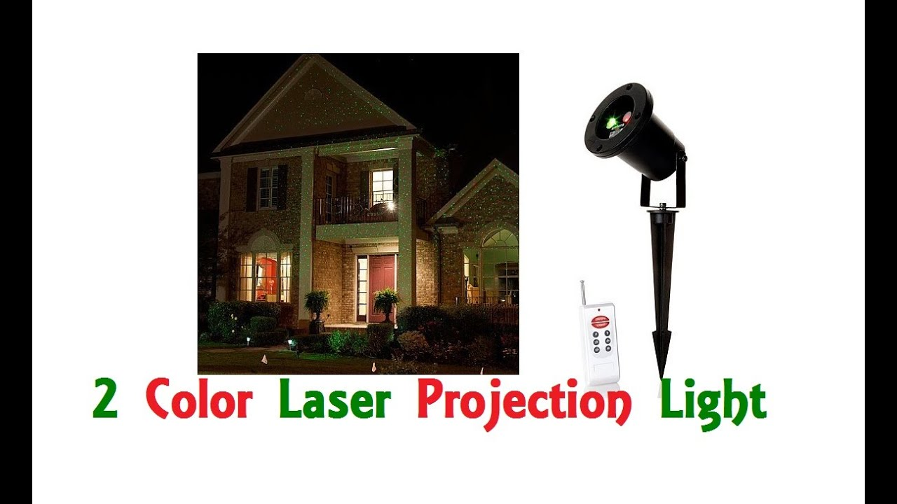 Laser Christmas Lights Like Star Shower Projector Outdoor Indoor ...
