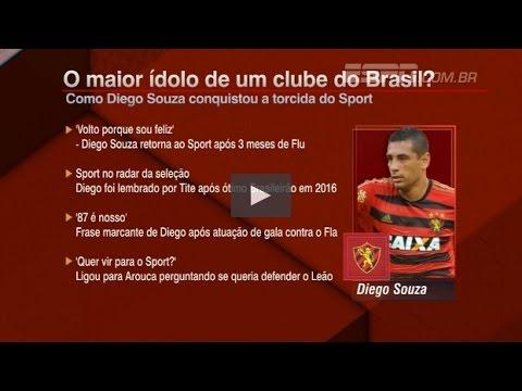 Entrevista de Diego Souza no Bate Bola da ESPN (Completo) 11-04-2017