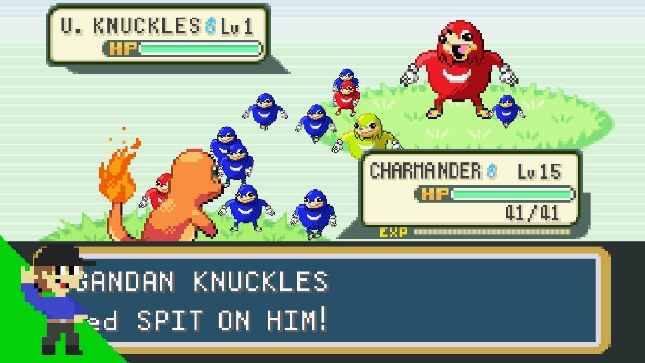 Ugandan Knuckles - Encyclopedia Dramatica