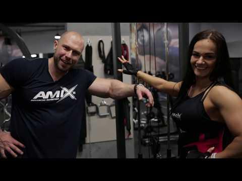 Milan Šádek IFBB PRO a Barbora Mlejnecká: trénink zad a bicepsu v Empire Fitness