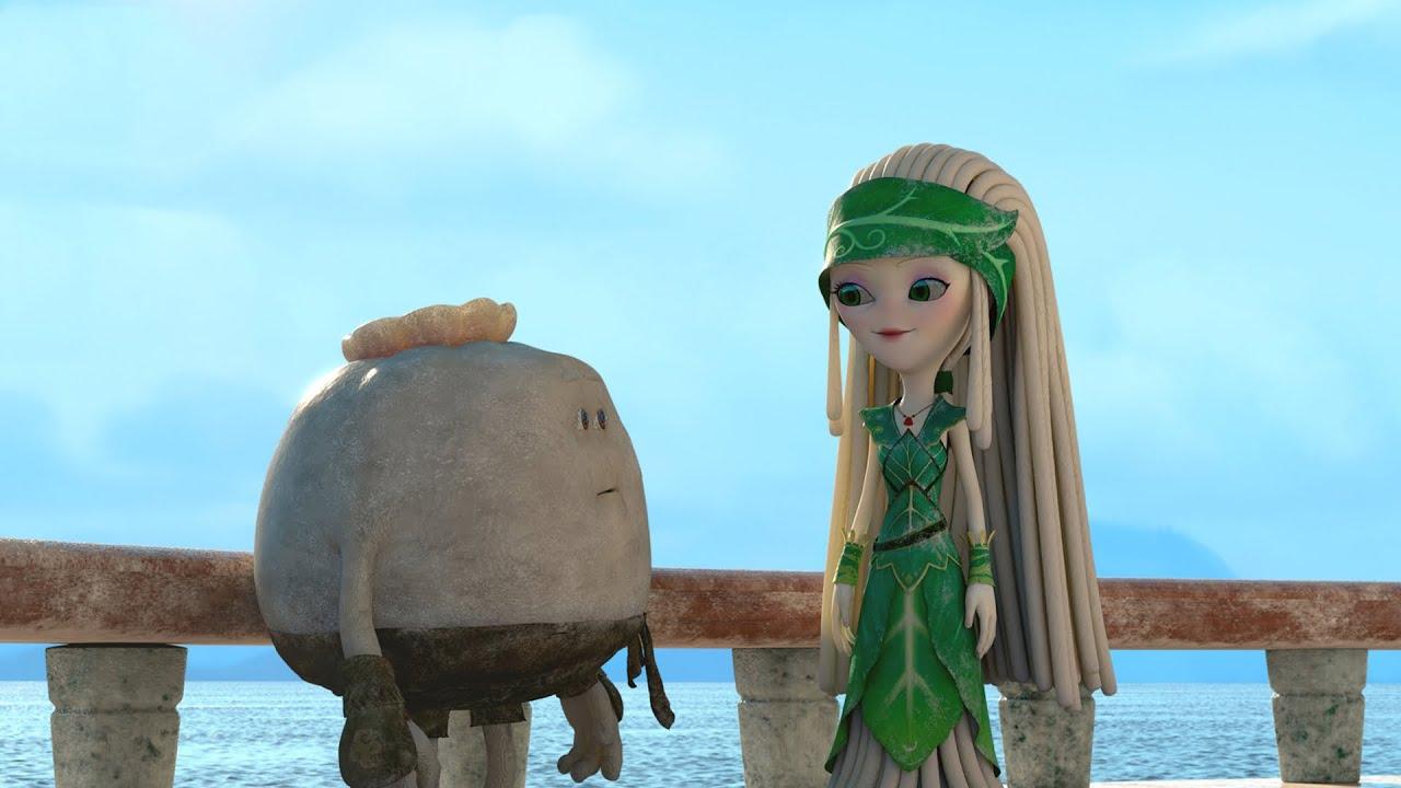 小包子为了面条女神,和寿司武士展开决斗,一部美食动画电影
