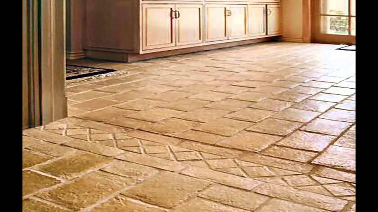 Tile In Kitchen Floor Kitchen Floor Tile Designs Youtube
