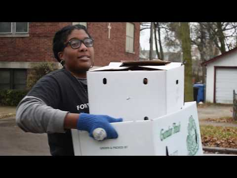 Forty Acres Fresh Market Delivery to Two Sisters Catering in Chicago-VLOG