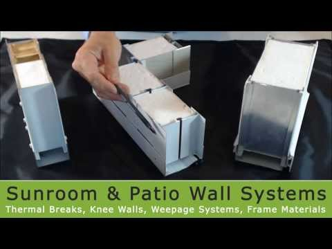 Affordable Sunroom Kits Wall Systems
