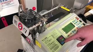 JEMA JM-120 LR Hot and Cold Tape/Strap Cutting Machine