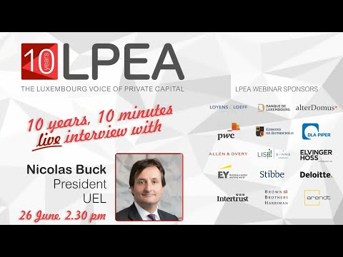 10 Years, 10 Minutes with Nicolas Buck, President of the UEL