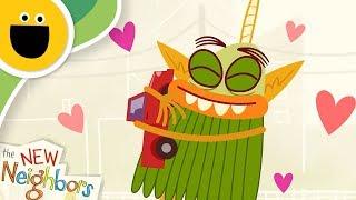Flurgg Learns to Share | The New Neighbors (Sesame Studios)