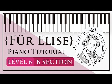 How To Play Für Elise (Beethoven): B Section - Level 6 Piano Tutorial - Hoffman Academy