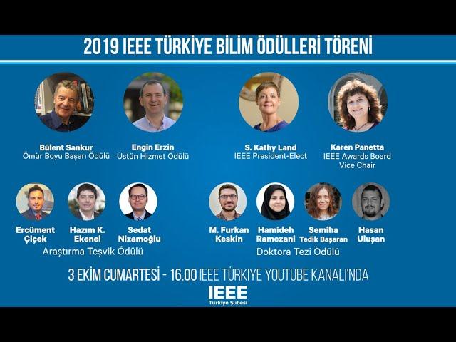 IEEE Turkey Science Awards Ceremony [2020/10/03]