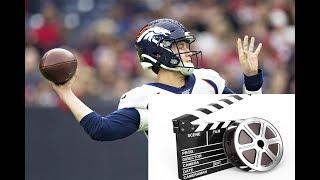 Drew Lock Broncos QB Film Review vs Texans