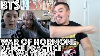 BTS War of Hormone Dance Practice REAL WAR VERSION Reaction