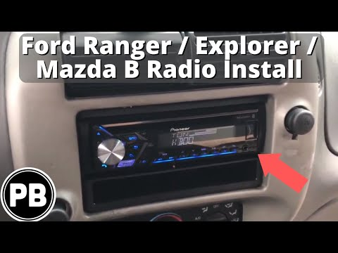 [SCHEMATICS_4UK]  1998 - 2012 Ford Ranger / Mazda B Series Bluetooth Stereo Install - YouTube | 2000 Ford Ranger Radio Wiring Harness |  | YouTube