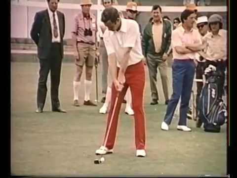 1972 Australian Open Golf won by Peter Thomson | Kooyonga Golf Club