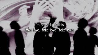 [Nightcore] BTS - FAKE LOVE [Deeper Version]