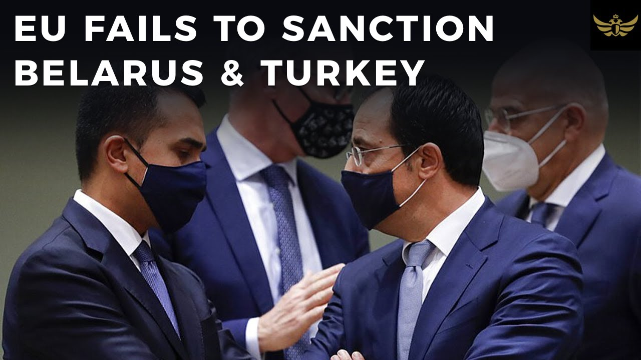EU turns itself into pretzel over Belarus & Turkey sanctions. Blames failure on Cyprus