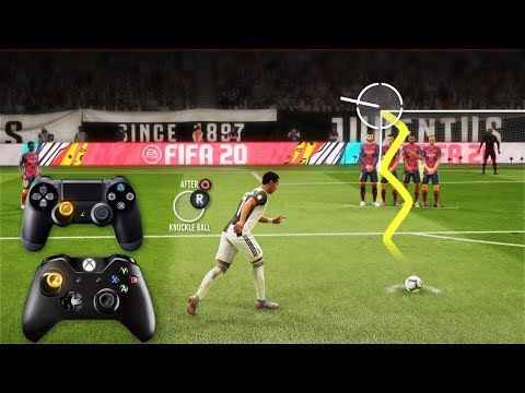 FIFA 20 Knuckleball/Power Free Kick Tutorial