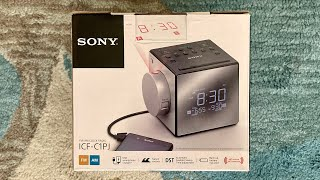 Good Morning. Sony AM/FM Dual Alarm Clock Radio Unboxing + First Impressions