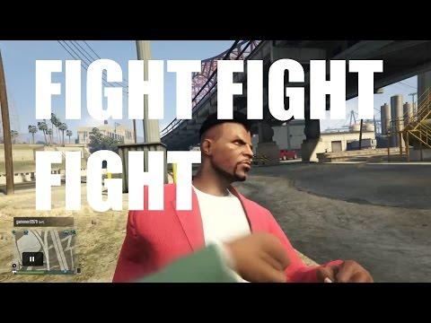 GTA 5 Online Fist Fight!!