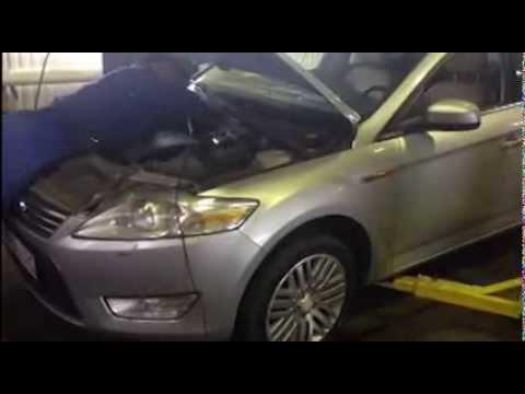 Замена катализатора и гофры на Ford Mondeo. Москва.