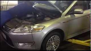 Замена катализатора и гофры на Ford Mondeo. Москва.(, 2013-10-25T07:20:52.000Z)
