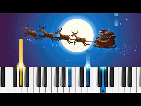 Feliz Navidad - EASY Piano Tutorial