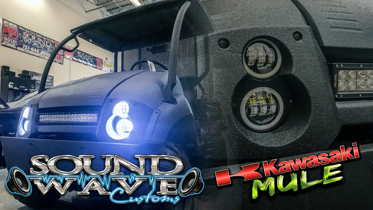 Kawasaki Mule Build Custom Led Lighting Amp Sound