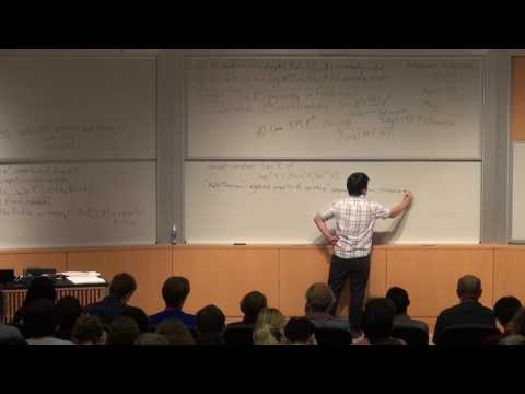 "Steven V Sam, ""Noetherian properties in representation theory"""