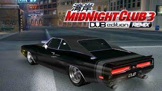CUSTOMIZANDO O DODGE CHARGER R/T 69  - Midnight Club 3 - DUB Edition Remix