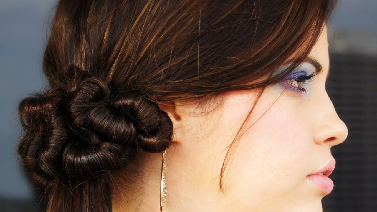 Peinado elegante r pido y f cil youtube - Peinados faciles y elegantes ...