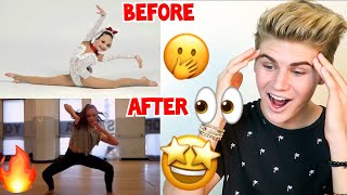 SHE IS INSANELY GOOD! MADDIE ZIEGLER DANCING *BEFORE* & *NOW* MUST WATCH 2017 (DANCE MOMS) REACTION