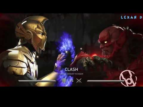Injustice 2 - Доктор Фэйт против Атроцитуса - Intros & Clashes (rus)