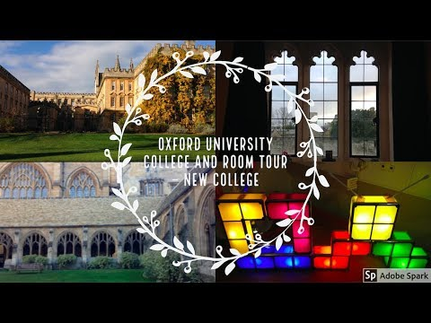 OXFORD UNIVERSITY COLLEGE AND ROOM TOUR (NEW COLLEGE)